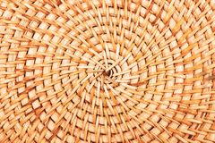Close up de bambu da textura do saco ou do placemat foto de stock