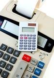 Close-up de bedrijfs van de Calculator royalty-vrije stock fotografie