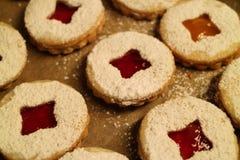 Close-up de biscoitos do Natal Imagem de Stock