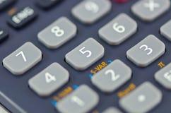 Close-up de botões da calculadora Imagem de Stock