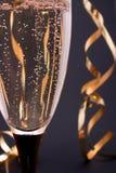 Close-up de Champagne Foto de Stock