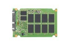 Close up de circuito integrado aberto da movimentação Imagens de Stock Royalty Free