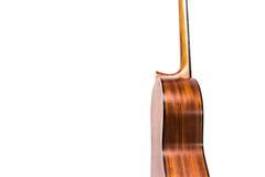 Close-up de cordas clássicas da guitarra Fotos de Stock Royalty Free