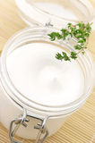 Close-up de creme cosmético fotos de stock royalty free