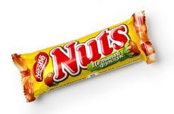 Close up de doces Nuts Fotografia de Stock