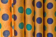 Close up de Dots Abstract Background Foto de Stock