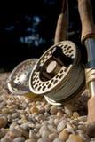 Close up de Flyrods Fotografia de Stock Royalty Free