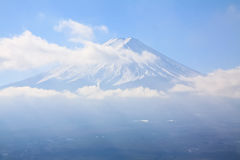 Close up de Fujiyama Foto de Stock Royalty Free