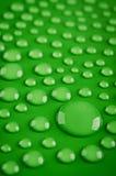 Close-up de gotas da água Imagem de Stock