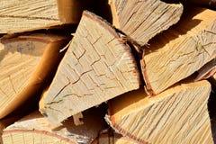 Close-up de logs do vidoeiro imagens de stock royalty free
