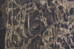 Close up de mármore escuro preto do fundo da textura Superfície da pedra do Grunge foto de stock