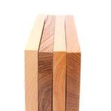 Close-up de madeira da prancha quatro Imagem de Stock Royalty Free
