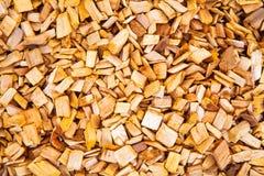 Close-up de madeira da serragem Imagens de Stock