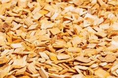 Close-up de madeira da serragem Fotografia de Stock Royalty Free