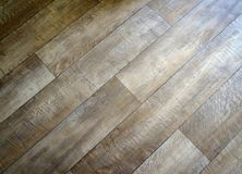 Close-up de madeira do assoalho imagens de stock royalty free