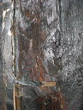 Close up de madeira velho do feixe de apoio Fotos de Stock