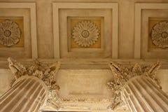 Close-up de Maison Carrée Foto de Stock Royalty Free