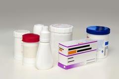 Close-up de medicamentações diferentes Imagens de Stock Royalty Free