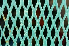 Close-up de Mesh Barrier idoso Foto de Stock