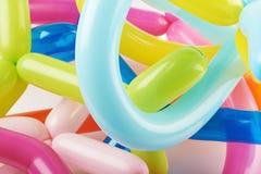 Close-up de modelar balões Foto de Stock Royalty Free