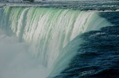 Close-up de Niagara Falls Imagem de Stock