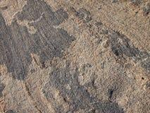 Close-up de pedra da rocha Imagem de Stock