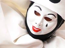 Close-up de Pierrot Fotografia de Stock Royalty Free