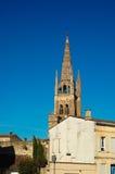 Close-up de Roman Catholic Church de Libourne Imagens de Stock