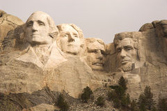 Close-up de Rushmore da montagem fotografia de stock