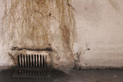 Close up de sujo oxidado velho Fotos de Stock Royalty Free