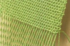 Close-up de tecelagem Fotos de Stock Royalty Free