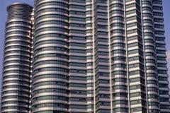 Close up de torres gêmeas de Petronas Imagem de Stock Royalty Free