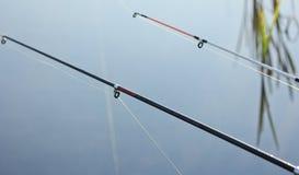 Close-up de um carretel da pesca no barco Imagem de Stock Royalty Free