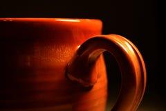 Close-up de um copo Fotos de Stock