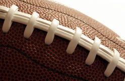 Close up de um futebol americano Fotografia de Stock Royalty Free