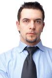 Close-up de um homem de negócios. Imagens de Stock
