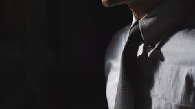 Close up de um homem de negócios foto de stock