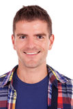 Close up de um homem de sorriso Imagens de Stock