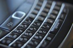 Close up de um teclado do telefone imagens de stock