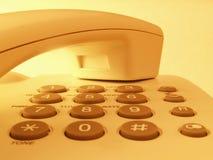 Close up de um telefone Imagens de Stock Royalty Free