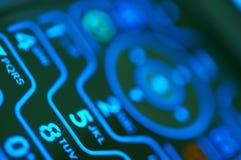 Close-up de um telefone de pilha foto de stock royalty free