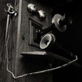 Close-up de um telefone do vintage Fotos de Stock
