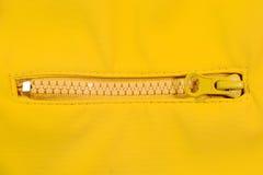Close up de um zipper foto de stock royalty free