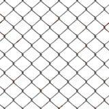 Close-up de uma cerca de fio que forma um teste padrão Foto de Stock Royalty Free