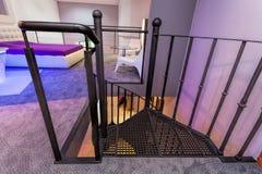 Close up de uma escadaria fotos de stock royalty free