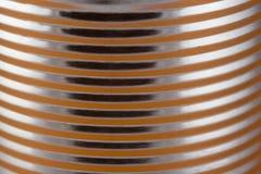 Close up de uma lata Imagens de Stock Royalty Free