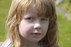 Close-up de uma menina bonito Foto de Stock