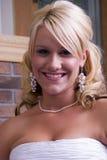 Close-up de uma mulher bonita Fotos de Stock