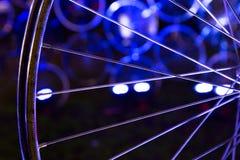 Close-up de uma roda da bicicleta Foto de Stock Royalty Free