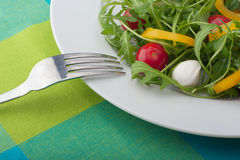 Close-up de uma salada Foto de Stock Royalty Free